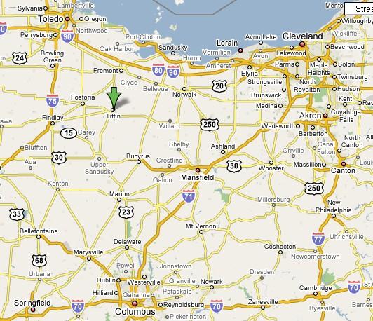 Maxwell Art Glass Jim Maxwell Glassblowing Sandblasting - Map of northern ohio